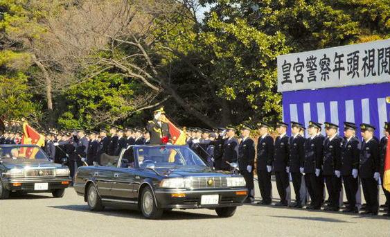 皇居警察 年頭式