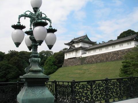 koukyo042.JPG 皇居 正門鉄橋から見た伏見櫓