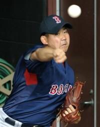 20090430DL入り.jpg 松坂大輔投手 DL後初ブルペンで投球
